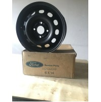 1 CERCHIO  IN FERRO 5 1/2X14X41 ORIGINALE FORD FIESTA V FORD 5013239