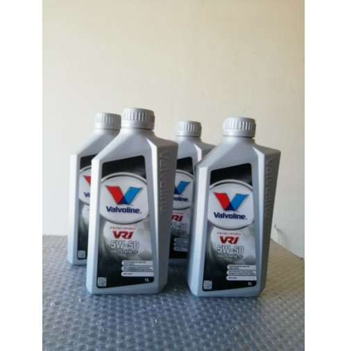 4 LITRI OLIO MOTORE VALVOLINE VR1 RACING OIL 5W50