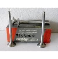 4 VALVOLE DI SCARICO FIAT UNO TD 1.4 ORIGINALI FIAT 7553004
