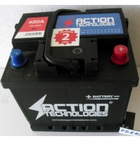 Batteria Auto 55 AH  450 A MARCA ACTION TECHNOLOGIES