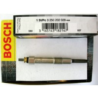 CANDELETTE FIAT BRAVA (182) 1.9 JTD 105 12.98 - 10.01 77 105   BOSCH 0250202028