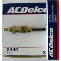 CANDELETTE FIAT FIORINO 1.3D -1.7 D -1.9D  ACDELCO 244G = BERU GV663