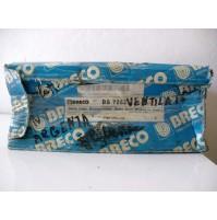 COPPIA  DISCHI FRENO ANT. FIAT RITMO I CABRIOLET 100 1.6  ' 85-87 BRECO BS 7262