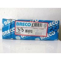 COPPIA  DISCHI FRENO ANT. MERCEDES 190(W201) E 2.3 BRECO BS 8313