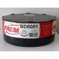 COPPIA DISCHI FRENO ANT. NISSAN PRIMERA 1.6 2.0 D '90 96 FREMAX BD 6001