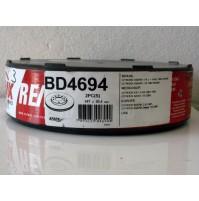 COPPIA  DISCHI FRENO ANTERIORI CITROEN AX 1.4 GTI 74 KW FREMAX BD 4694