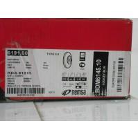 COPPIA DISCHI FRENO ANTERIORI FIAT 500(312) 900 1200 REMSA 6191.00