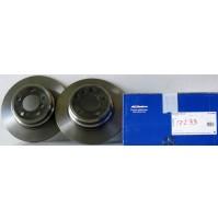 Coppia dischi freno posteriori BMW X5 (E53) 3.0 d 218CV