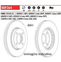 DDF364 Dischi freno Ferodo Ant FORD MONDEO II Station wagon Benzina 1996>2000