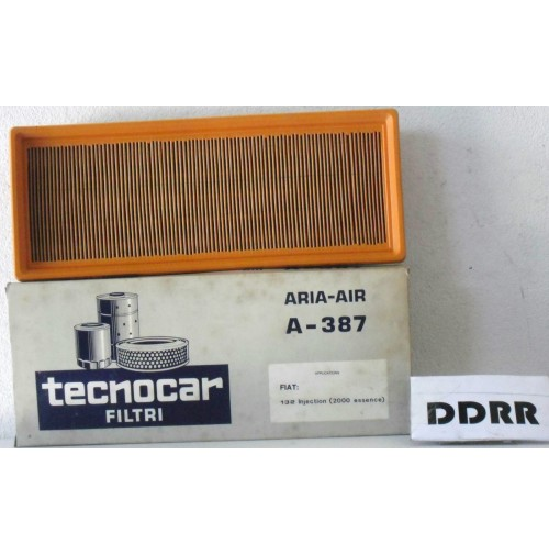 FIAT 131 RACING 132 INIEZIONE FILTRO ARIA AIR FILTER NEW ORIGINAL TECNOCAR A 387