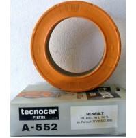 FILTRO ARIA RENAULT R4-R4 L-R6 L -R6 TL TECNOCAR A 552