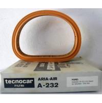 FILTRO ARIAFORD GRANADA 1,9-2,1-2,3 DIESEL EFA  162 TECNOCAR A-232