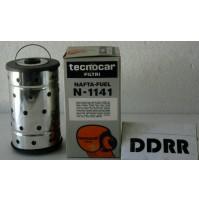FILTRO NAFTA-FUEL N 1141 TECNOCAR  2 pezzi