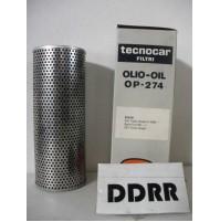 FILTRO OLIO BMW 524 TD  1988- SERIE T 1990 - TECNOCAR  OP-274