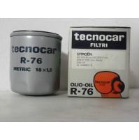 FILTRO OLIO CITROEN GS 1015 - GS 1220- GSX 1120 TECNOCAR R 76