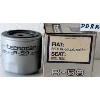 FILTRO OLIO FIAT 850 -COUPE' -SPIDER TECNOCAR R 59