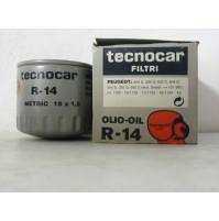 FILTRO OLIO PEUGEOT 3404 D-204D-403-405D TECNOCAR R 14