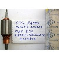 Indotto Dinamo Fiat 850 Marca Efel  COD .04900=FIAT 4110849