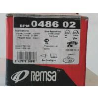 KIT PASTIGLIE FRENI  ANTERIORI FIAT DUCATO AUTOBUS 230 2.0 JTD REMSA BPM 0486.02