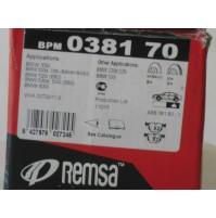 KIT PASTIGLIE  FRENI  POSTERIORI  BMW 3 E90 330i  335 i REMSA BPM 0381.70