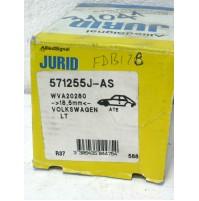 KIT PASTIGLIE FRENO ANTERIORI VW LT 40-55 I FURGONATO 2.0 2.4 TD JURID 571255J