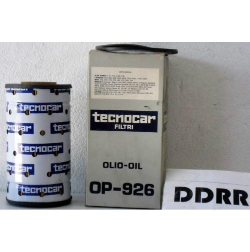 OP926 FILTRO OLIO (OIL FILTER) ALFA-ROMEO A15-A19-A38-SAVIEM