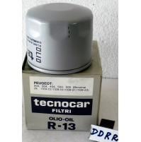 Peugeot 204 1.1 Filtro Olio Tecnocar  R13