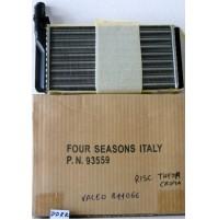 Radiatore riscaldamento FIAT CROMA 2000 I.E TURBO  114 KW PN 93559