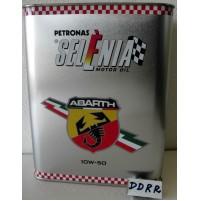 SELENIA ABARTH 10W50 OLIO MOTORE LT 4 + FILTRO OLIO FIAT 73500049 X 500 ABARTH