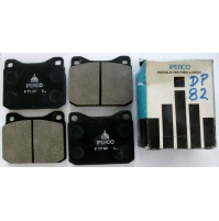 SERIE PASTICCHE FRENO(BRAKE-PADS) ANTERIORI BMW 528-530i- 73-76 Iperco  DP 82