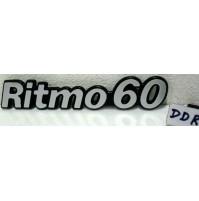 Scritta Sigla Fiat Ritmo 60 Logo Badge Nameplate