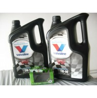 VALVOLINE OLIO MOTORE VR1 RACING  OIL 5W-50 FULL SYNTHETIC  FLACONE  10 LITRI